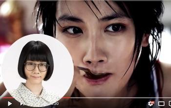 「ひよっこ」のメガネっ娘・澄子は誰ぞや《動画》すごい美人だ