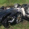 2900万円のフェラーリ!入手後1時間で炎上・大破w