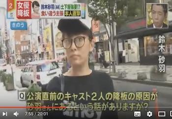 鈴木砂羽「土下座」強要報道に涙で反論「法的措置も」
